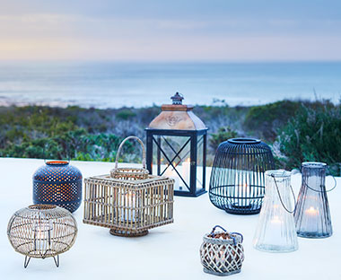 Stylish outdoor lanterns for the garden