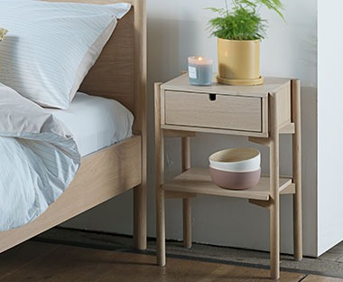 DALBY bedside table