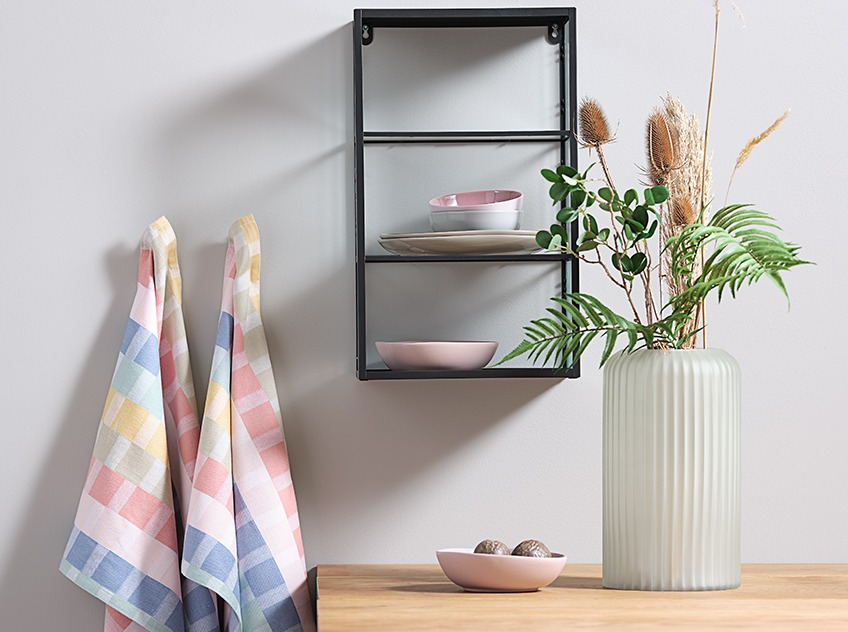 Colourful home ware accessories
